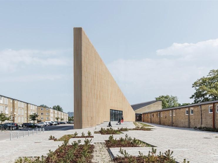 丹麦Tingbjerg图书馆和文化之家