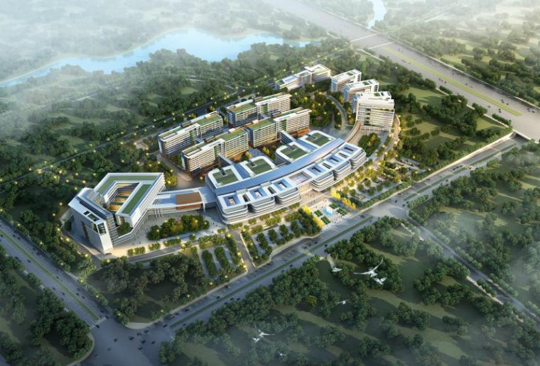 [湖北]襄阳医疗中心建筑设计方案文本