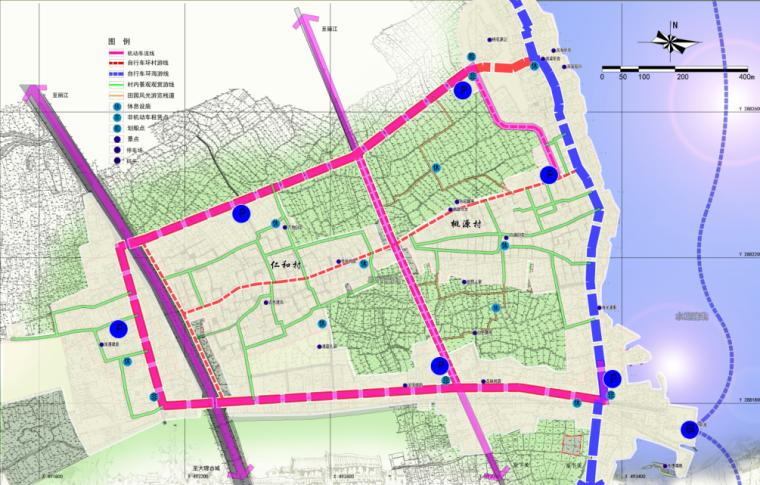 旅游线路组织规划图