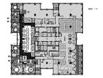 [澳门]知名设计公司酒店中餐厅设计施工图(含效果图)