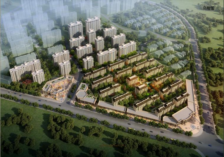 [江西]高层现代风格穿插式公寓楼建筑设计方案文本