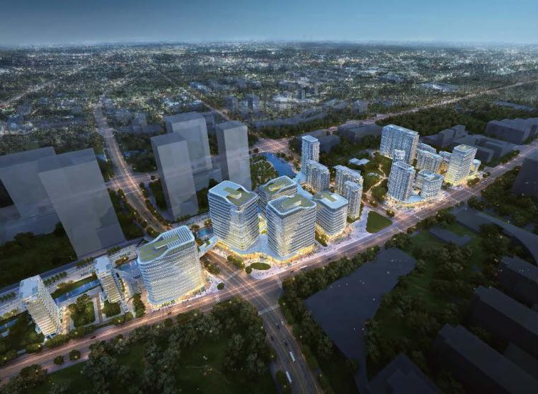 [北京]未来科技城整合模型(公建+住宅|2018年资料)