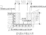 污水处理厂深基坑井点降水施工方案