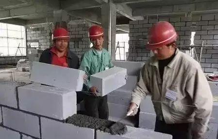 加气混凝土砌块施工要点!