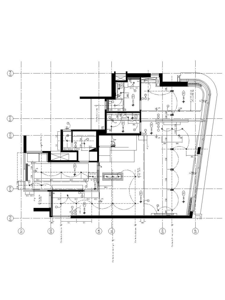 [香港]现代轻奢风格复式楼层装修全套施工图(附效果图)_2
