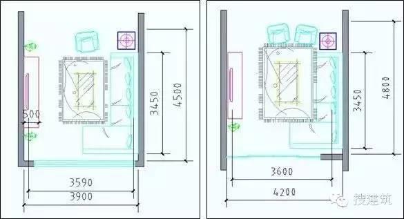 最全户型房间尺寸分析,设计师必备!_11