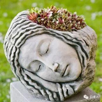 花园景观·石器小景_23