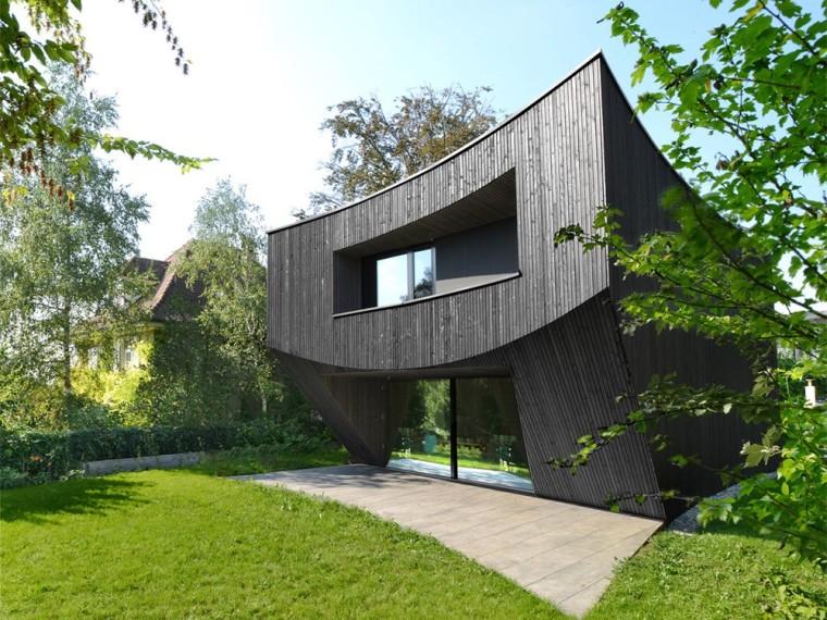 瑞士弧形住宅