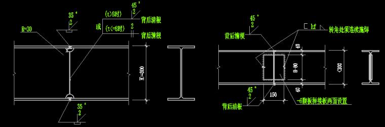 门式钢架顶层柱脚锚固在砼柱下部为砼框架厂房