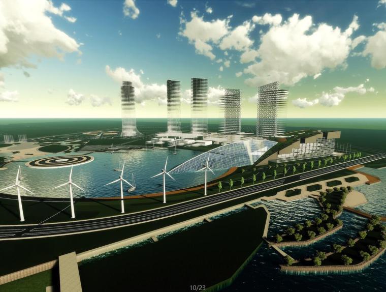 VR体验馆建筑设计资料下载-[山东]水文科技馆建筑设计文本(JPG+23页)