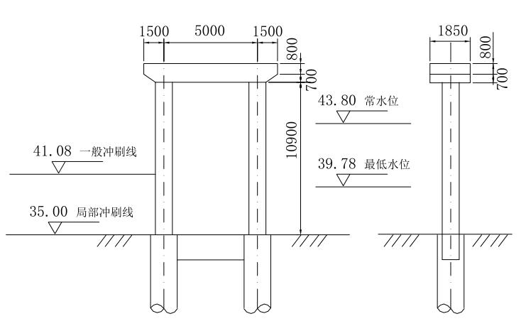 双柱式桥墩钻孔灌注桩设计任务书(PDF,35页)
