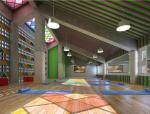[合肥]小兰花艺术培训学校室内装饰设计方案