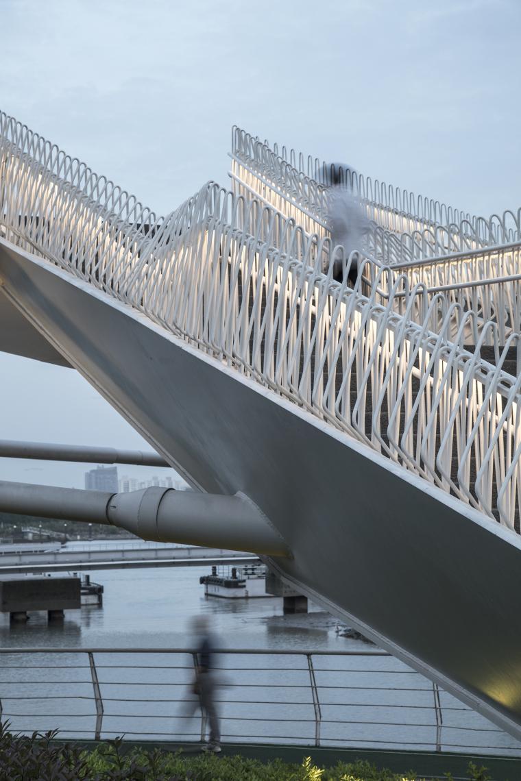 上海日晖港步行桥-6