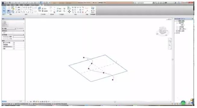如何在Revit中使用自适应族创建矩形无缝曲面幕墙嵌板的方法