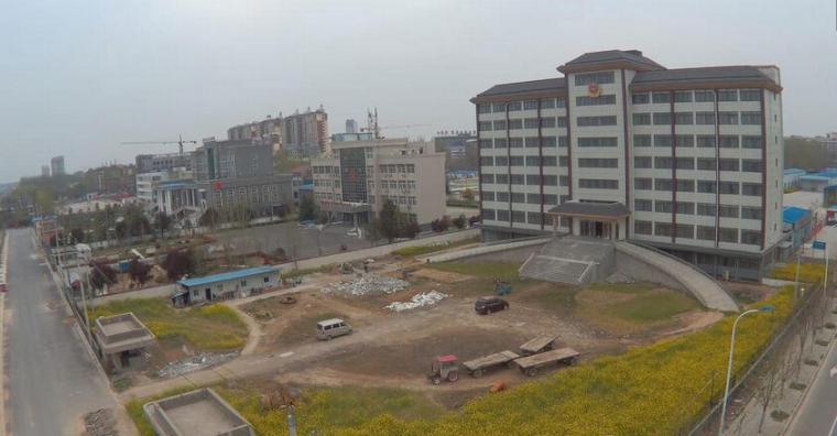 河南通许现8层豪华办公大楼,荒废多年_1