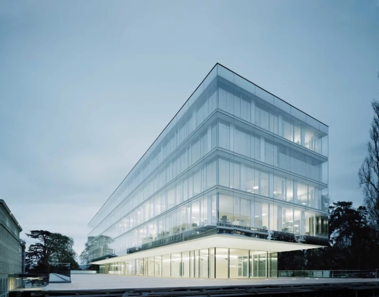 ibm斯图加特总部大楼资料下载-日内瓦世界贸易组织扩建