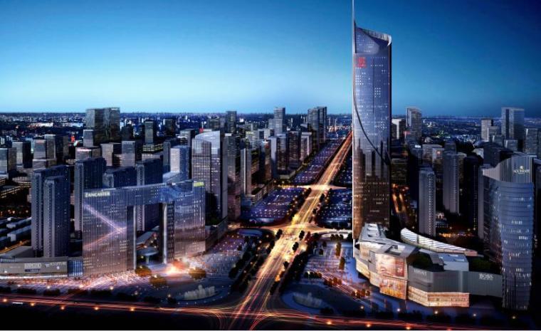 [河南]高层现代风格城市规划建筑设计方案文本