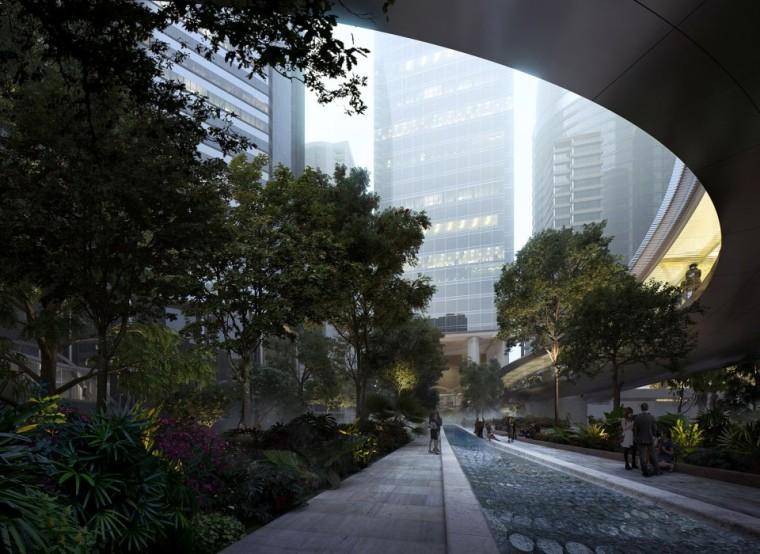 香港太古坊景观-2