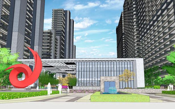 [浙江]杭州下沙城市森林居住区景观深化设计方案(现代、简洁)