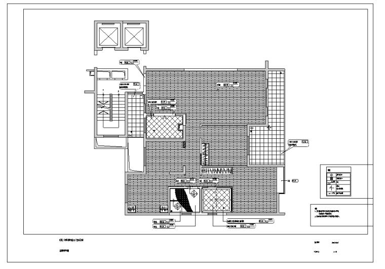 现代风格样板房室内设计详细施工图