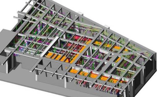 大型综合体项目BIM应用资料与总结(机电BIM模型)