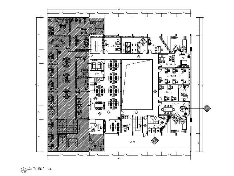 整套中式风格办公楼设计CAD施工图