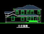 多层别墅建筑施工图纸