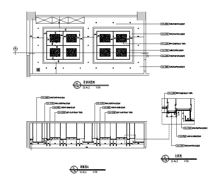 科技园厂房办公空间设计施工图(附效果图)