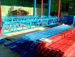 XHR动轨式全钢结构附着升降脚手架全钢结构液压爬模施工工艺