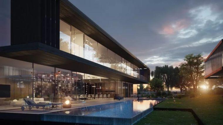 1500m²大别墅,极简大师这样打造,美竟如此纯粹!_79