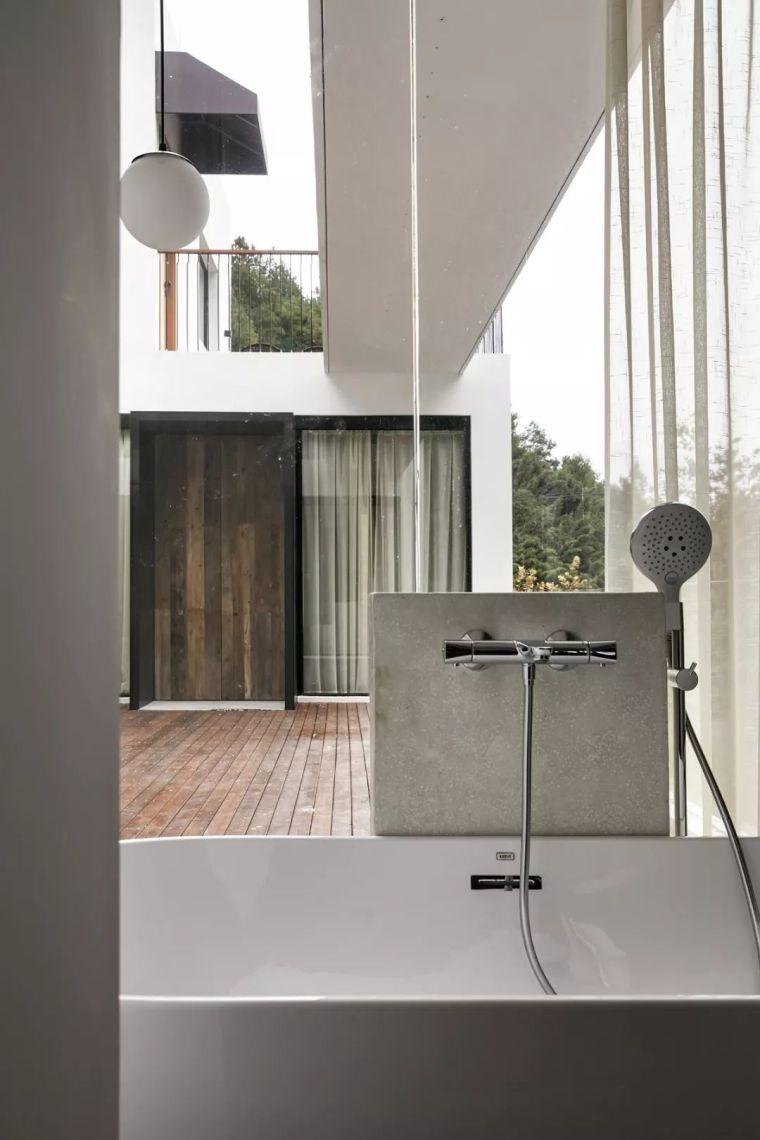 水泥厂改造成民宿,自然简约的设计就是这么美_31