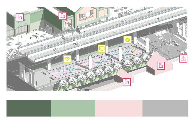 不会做小清新景观图纸,我敢肯定,99%就是配色的问题_27