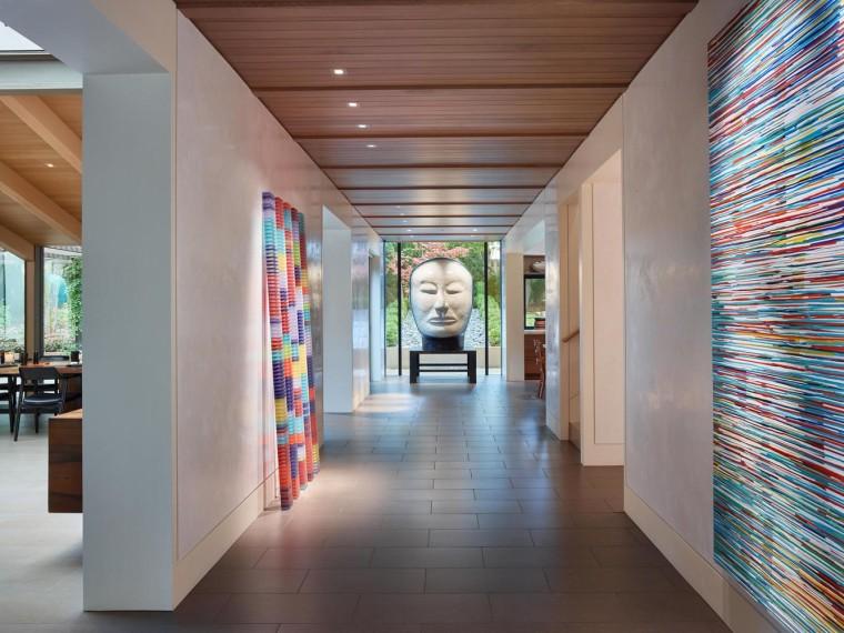 画廊住宅,与艺术品融为一体