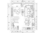 [内蒙古]LOFT风格样板间设计施工图(附效果图)