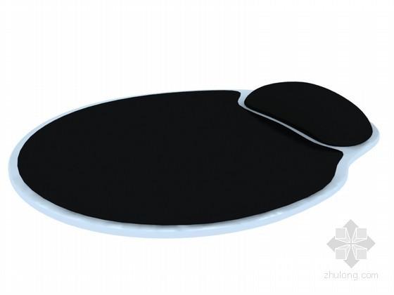 电脑鼠标垫3D模型下载