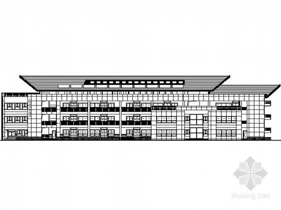 [广东]四层现代风格幼儿园建筑施工图