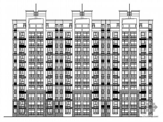 某十一层住宅楼建筑施工图