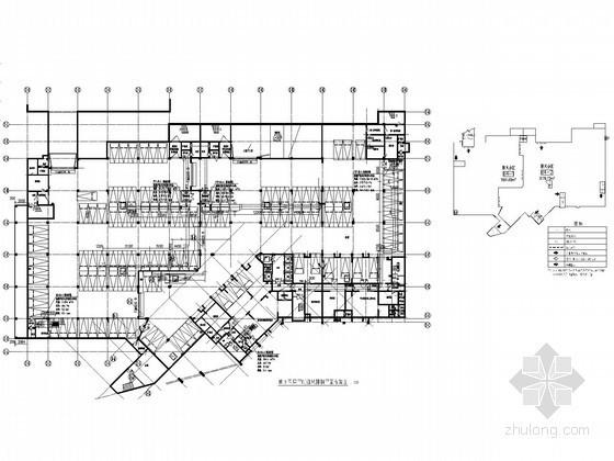 [长沙]某地下室通风排烟及人防系统施工图(甲院出品)