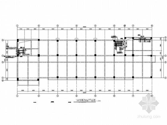 供水集团实验室梁板加固施工图
