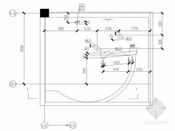 钢结构旋转楼梯结构施工图
