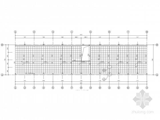 二层钢框架办公楼结构施工图