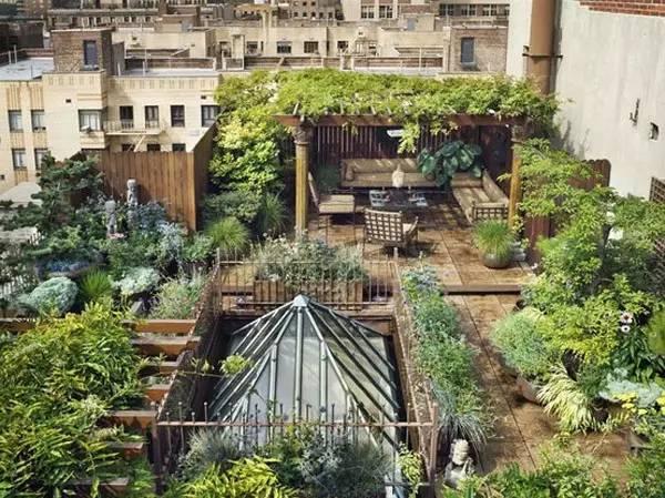 30种绝美屋顶花园