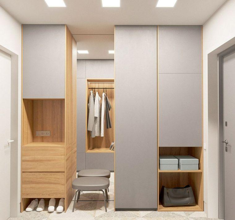 不装个嵌入式玄关柜,你的鞋子、包、衣服都放哪!?
