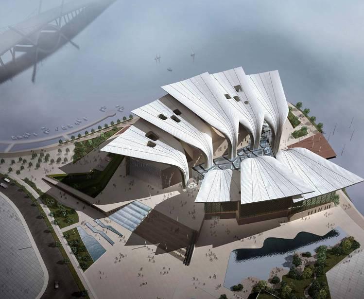 大剧院项目提高钢格栅板安装精度QC成果