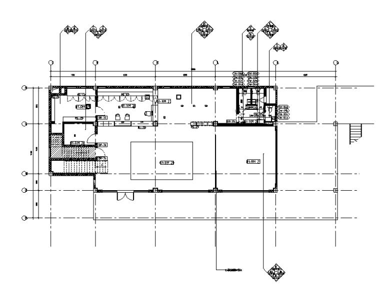 [浙江]莫干山民宿度假酒店设计施工图(含效果图)