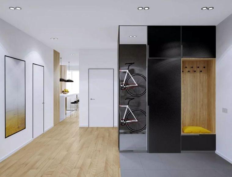 别再傻傻买鞋柜了,现在门厅都流行这样设计!