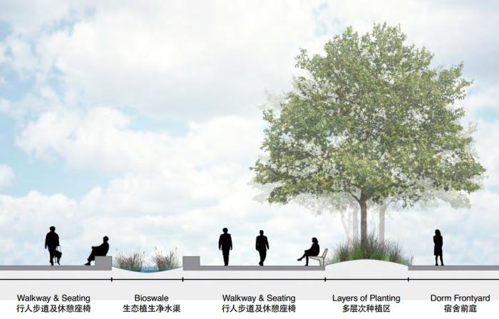 [江苏]传统精致园林高中校园景观规划设计方案_15
