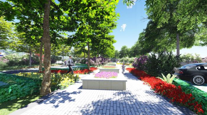 """[河南]""""健康花园""""高档居住区景观设计方案"""