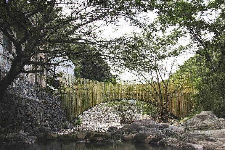 余姚中村竹桥景观
