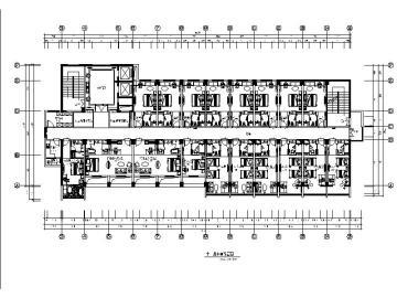 [福州]混搭风教育酒店设计施工图(含效果图,实景图)